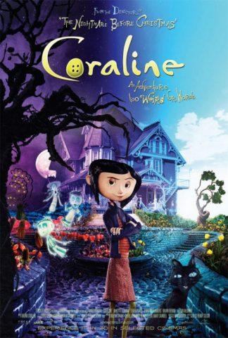 Coraline - 2009 Filmposter