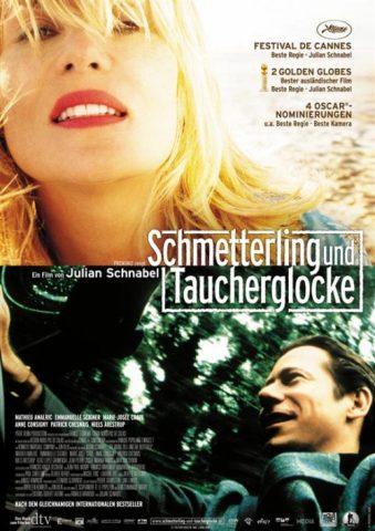 Schmetterling und Taucherglocke - 2007 Filmposter