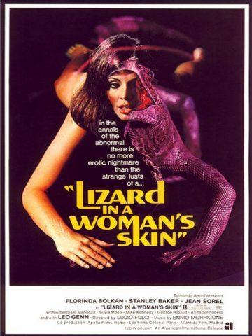 A Lizard in a Woman´s Skin - 1971 Filmposter