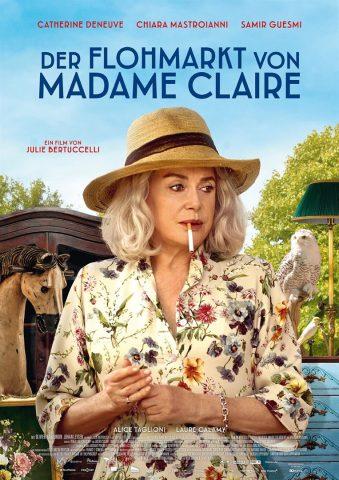 Der Flohmarkt von Madame Claire - 2018 Filmposter