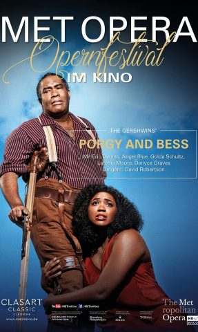 MET: 2021 - Porgy and Bess poster