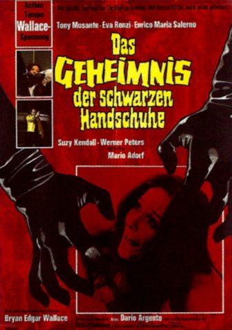Das Geheimnis der schwarzen Handschuhe - 1970 Filmposter