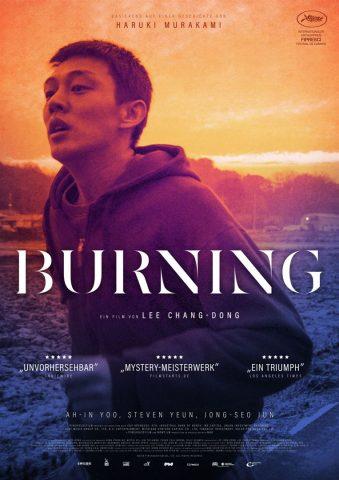 Burning - 2018 Filmposter