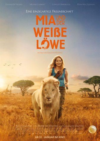 Mia und der weiße Löwe - 2018 Filmposter