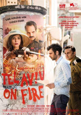 Tel Aviv on Fire - 2018 Filmposter