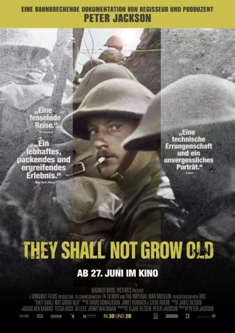 They Shall Not Grow Old - 2018 Filmposter