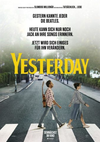 Yesterday - 2019 Filmposter