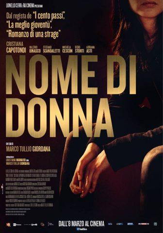 Nome di Donna - 2018 Filmposter