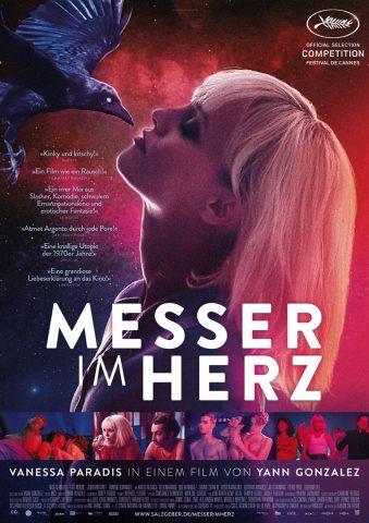 Messer im Herz - 2018 Filmposter