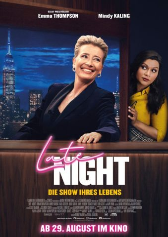 Late Night - 2019 Filmposter
