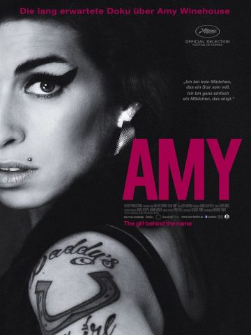 Amy - 2015 Filmposter