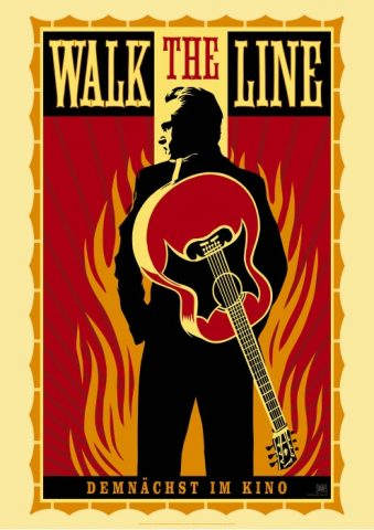 Walk the Line - 2005 Filmposter
