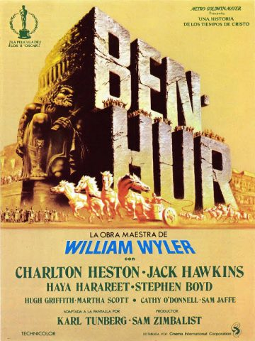 Ben Hur - 1959 Filmposter