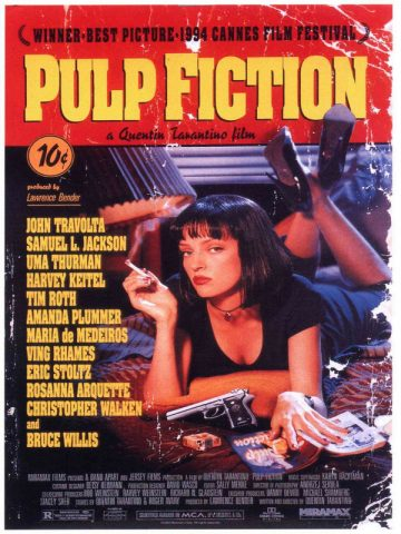 Pulp Fiction - 1994 Filmposter