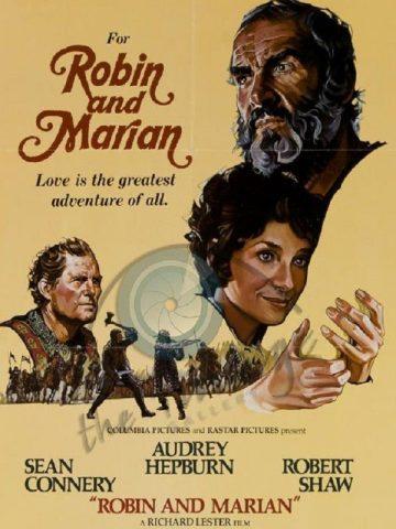 Robin und Marian - 1976 Filmposter