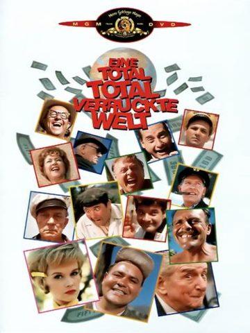 Eine total, total verrückte Welt - 1963 Filmposter