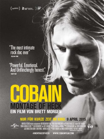 Cobain: Montage of Heck - 2015 Filmposter