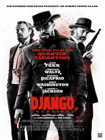 Django Unchained - 2012 Filmposter