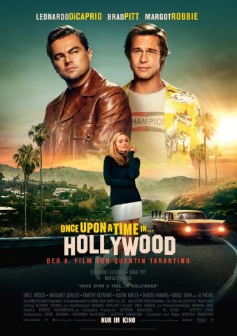 Once Upon A Time... In Hollywood - 2019 Filmposter