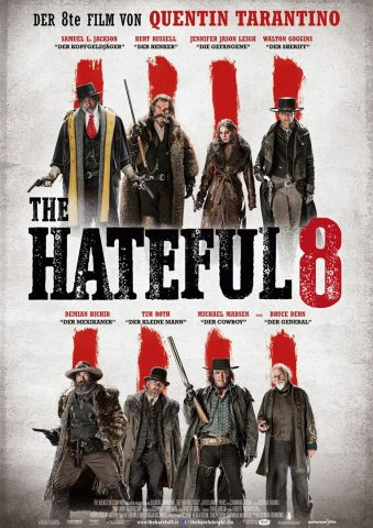 The Hateful 8 - 2015 Filmposter