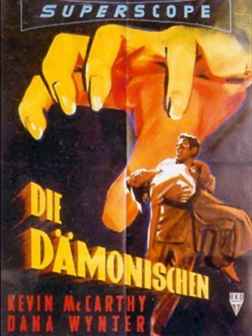 Die Dämonischen - 1956 Filmposter