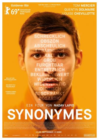 Synonymes - 2019 Filmposter