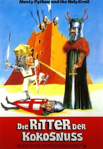 Die Ritter der Kokosnuss - 1975 Filmposter