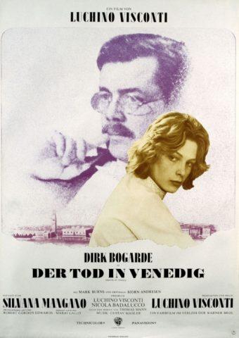 Tod in Venedig - 1971 Filmposter