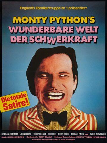 Monty Pythons wunderbare Welt der Schwerkraft - 1971 Filmposter