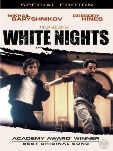 White Nights - 1985 Filmposter