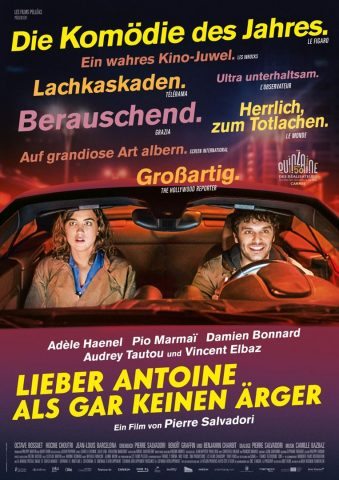 Lieber Antoine als gar keinen Ärger - 2017 Filmposter
