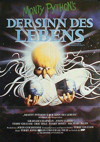 Der Sinn des Lebens - 1981 Filmposter