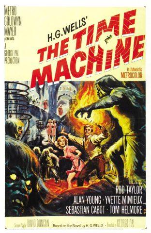 Die Zeitmaschine - 1960 Filmposter