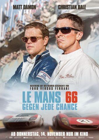Le Mans 66 - 2019 Filmposter