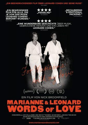 Marianne & Leonard - 2019 Filmposter