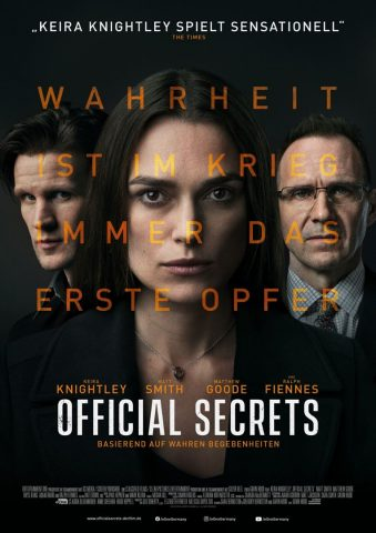 Official Secrets - 2019 Filmposter
