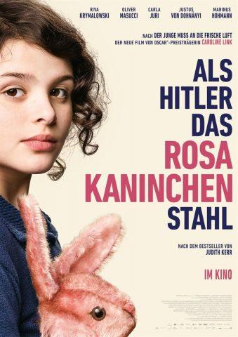 Als Hitler das rosa Kaninchen stahl - 2019 Filmposter