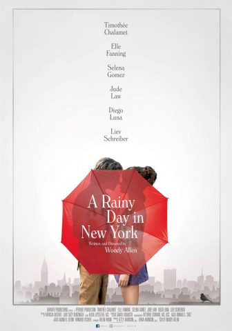 A Rainy Day in New York - 2019 Filmposter
