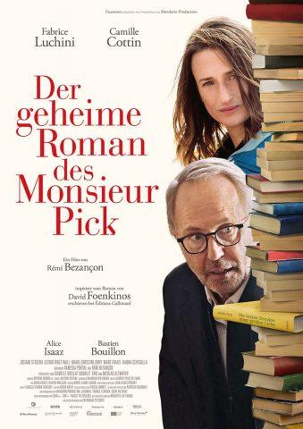Der geheime Roman des Monsieur Pick - 2018 Filmposter