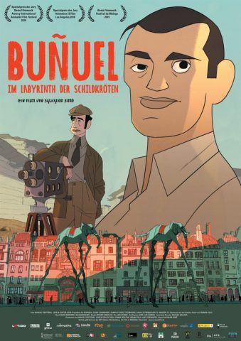 Buñuel - 2018 Filmposter