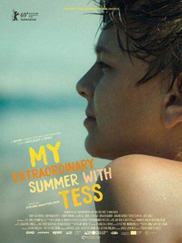 Meine wunderbar seltsame Woche mit Tess - 2019 Filmposter