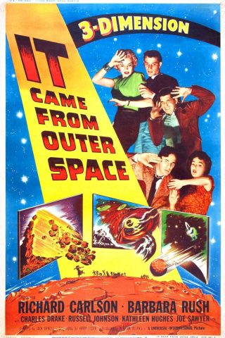 Gefahr aus dem Weltall - 1953 Filmposter
