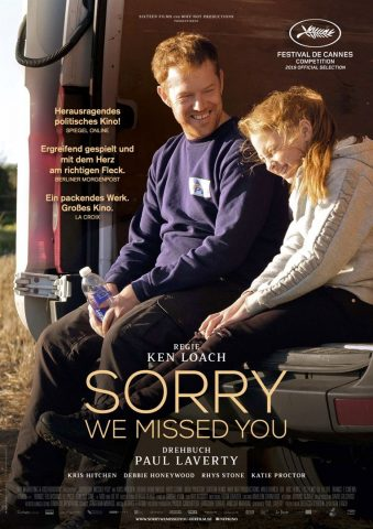 Sorry, we missed you - 2019 Filmposter