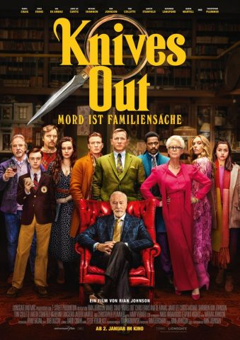Knives out - 2019 Filmposter