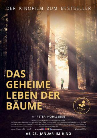 Das geheime Leben der Bäume - 2019 Filmposter