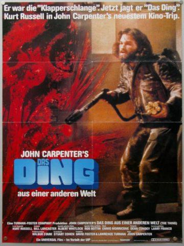 Das Ding aus einer anderen Welt - 1982 Filmposter