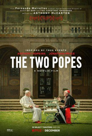Die zwei Päpste - 2019 Filmposter
