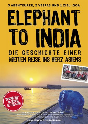 Elephant to India - 2019 Filmposter