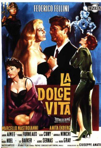 La Dolce Vita - 1960 Filmposter