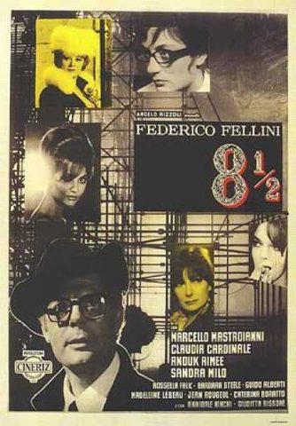 Achteinhalb - 1963 Filmposter